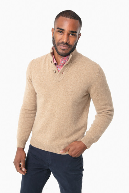 Caramel Heather Brewer Sweater