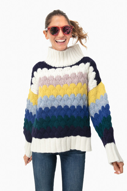 multi freya sweater