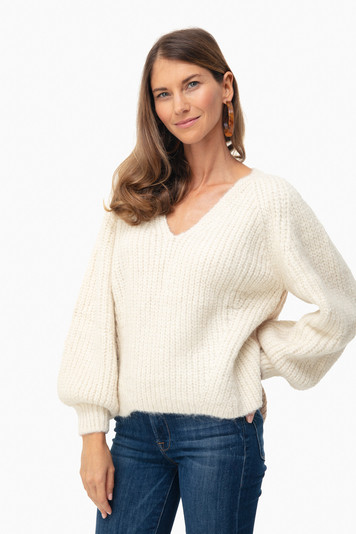 ivory tess sweater