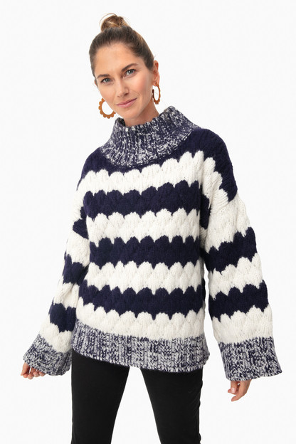 navy freya sweater