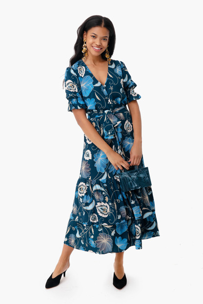 Nouveau Floral Willa Dress Take 25% off with code FLASH
