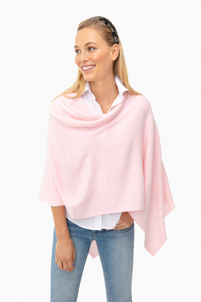 light pink monterey poncho