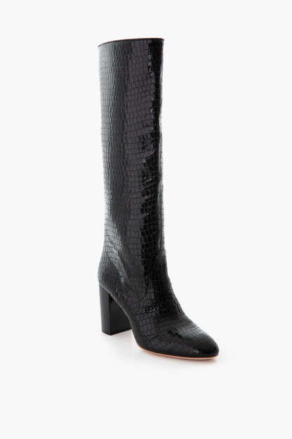 Black Goldy Tall Boot