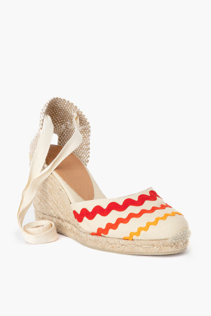 Red Craby Carina Espadrille