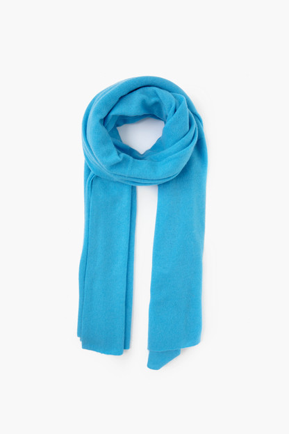 blue agate cashmere travel wrap