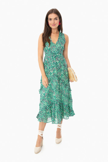 spring bud clover field gizela dress