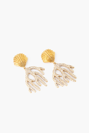 gold anegada earrings