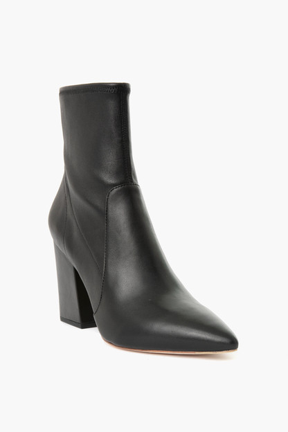 Leather Isla Slim Ankle Bootie