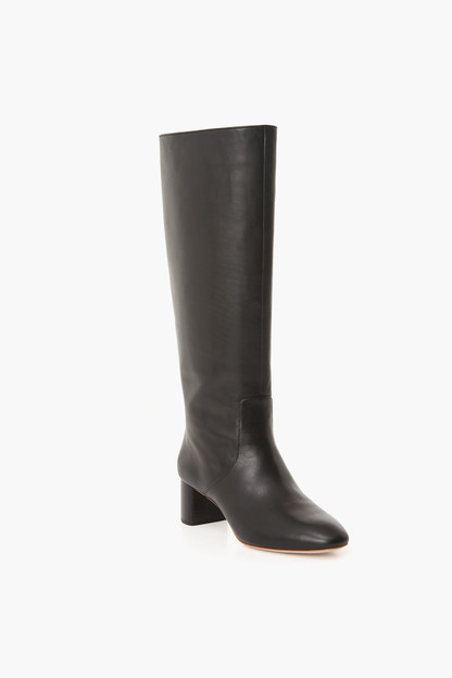 black gia tall boot