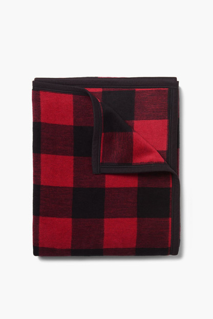 buffalo check blanket