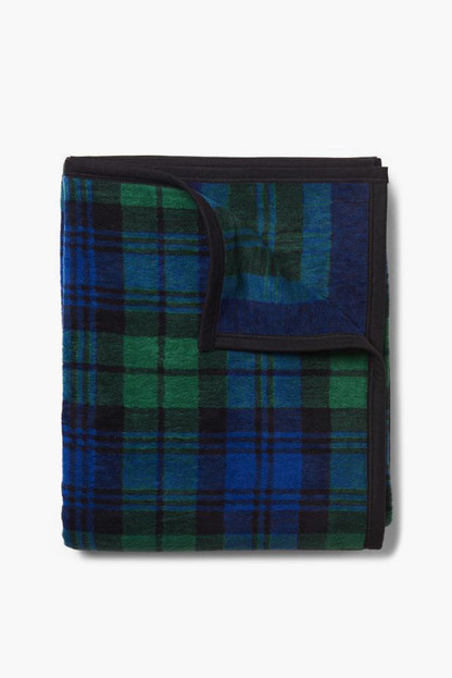 highland classic plaid blanket