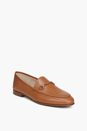 cognac loraine loafers
