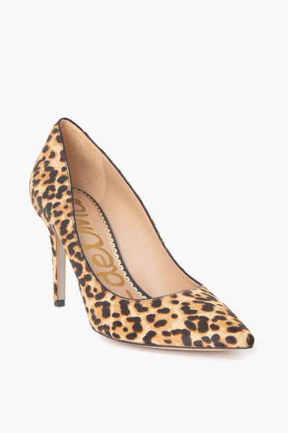 leopard margie pumps