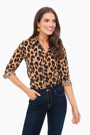 leopard signature shirt