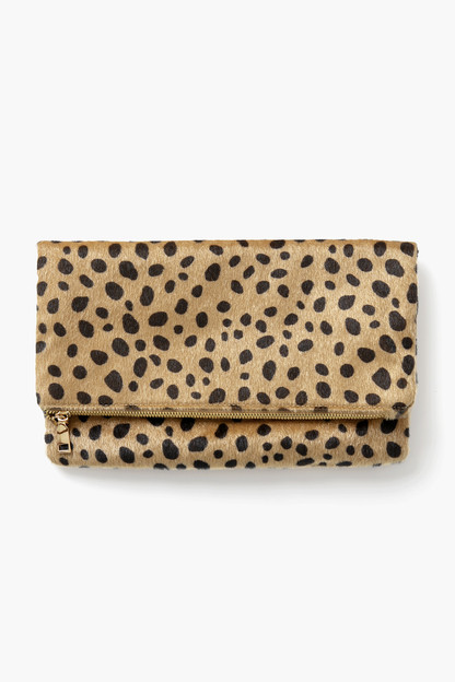 Leopard Foldover Clutch Take up to 30% off with code BIGSALE.