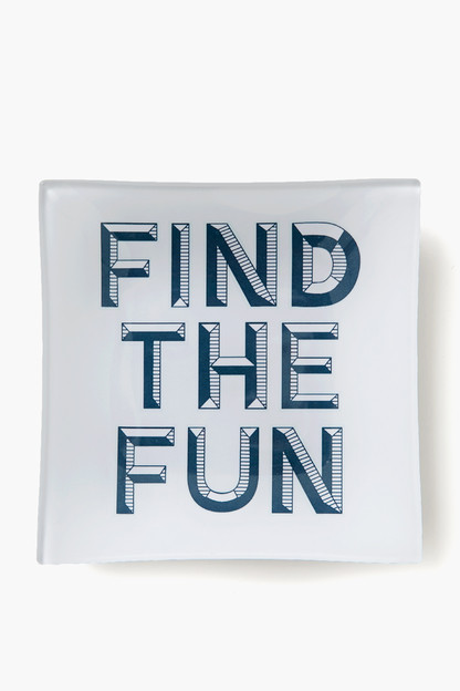 find the fun tray