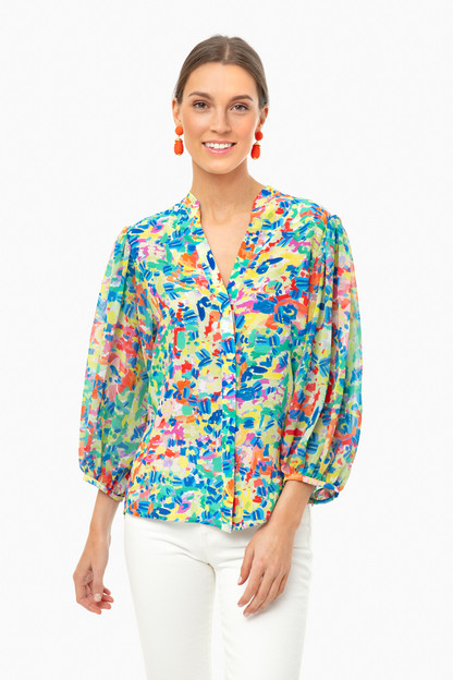 summer confetti chloe-b top