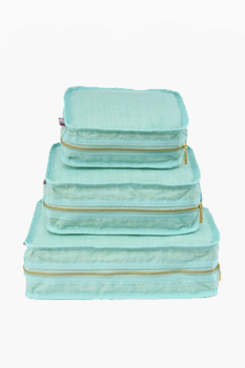 mermaid chambray travel set