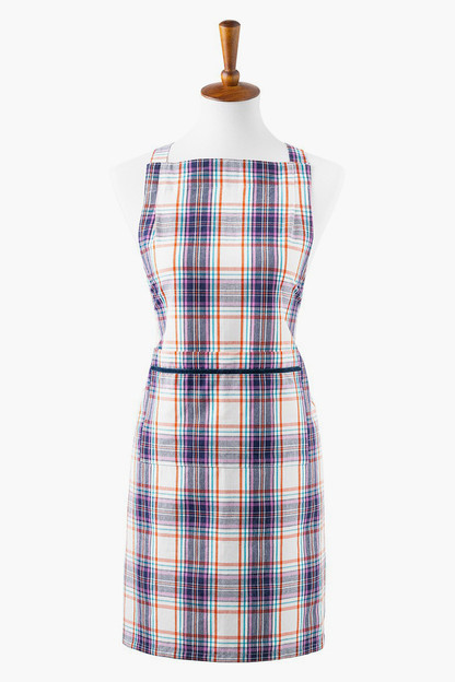 alpine plaid apron