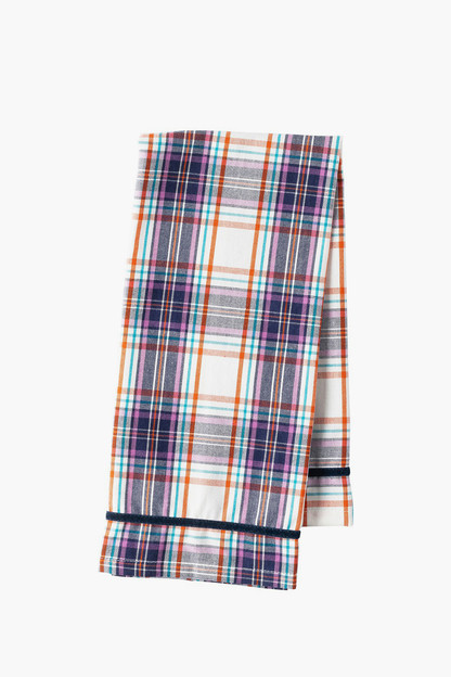 alpine plaid tea towel (set of 4)