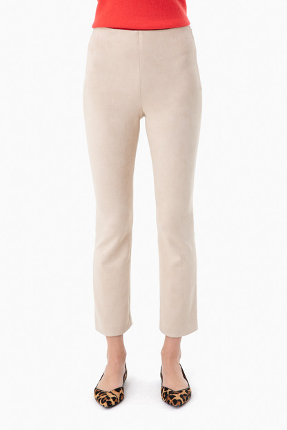 bone suede ashford pants