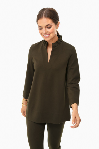 army green hicks blouse