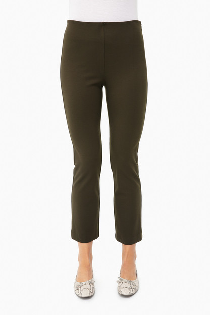 army green ashford ponte pants