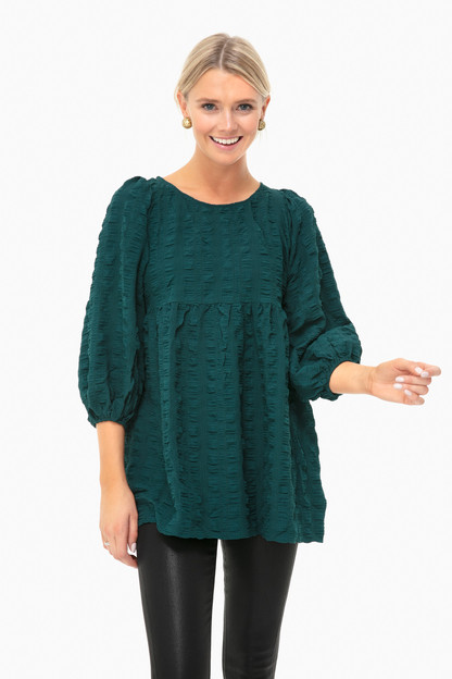 Green Cassia Blouse