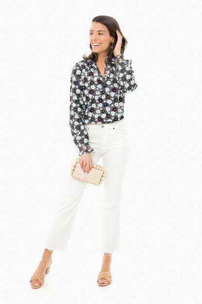 floral ines blouse