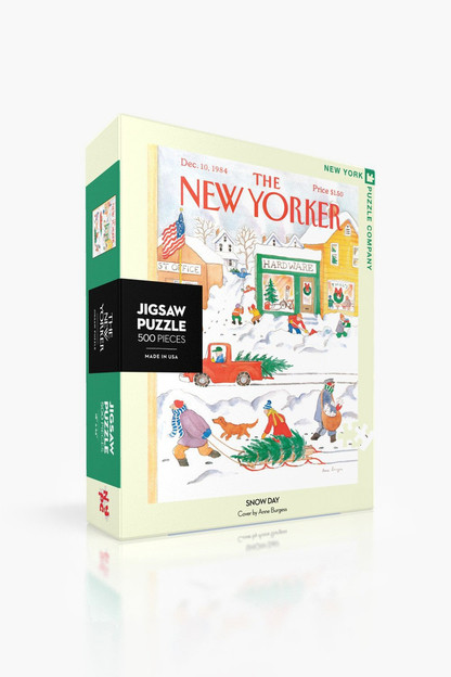 snow day jigsaw puzzle