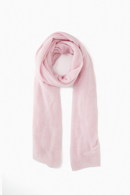 rosewater heather cashmere travel wrap