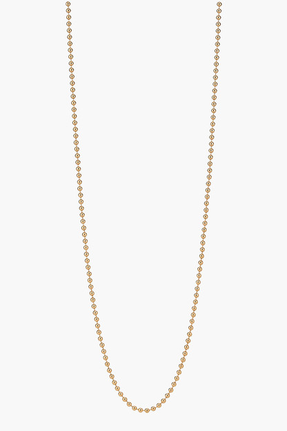 gold beaded chain 30