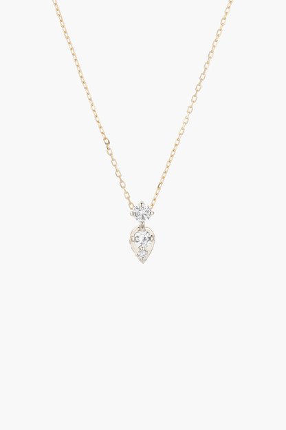 Two Diamond Jumble Necklace