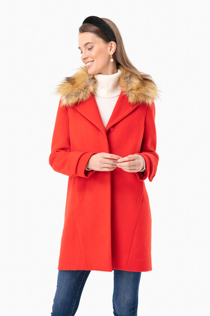 Red Remy Coat