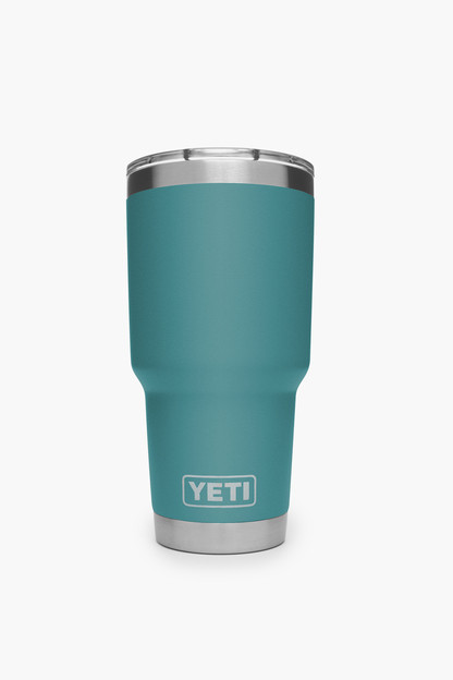 rambler 30oz tumbler river green