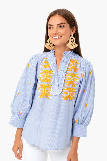 mexica blouse