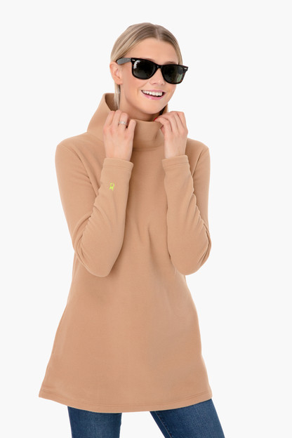 camel cobble hill turtleneck