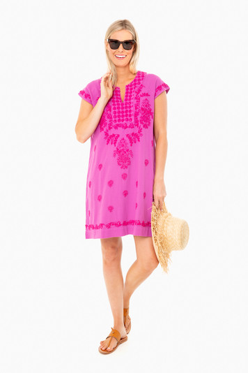 phlox pink faith dress