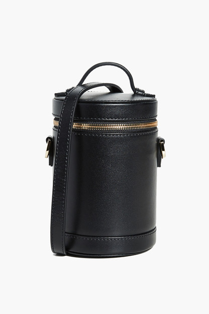 derby black leather crossbody capsule bag