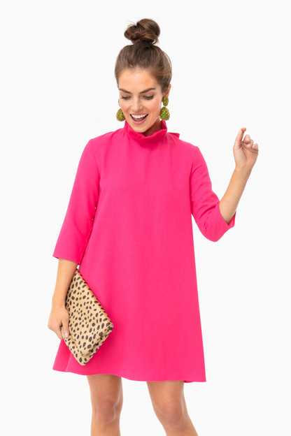 fuchsia daphne dress