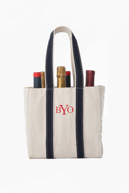 multi bottle wine tote