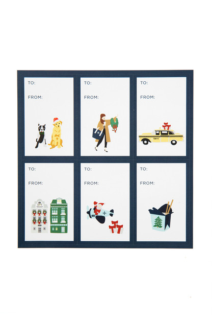 Holiday in the City Gift Tags