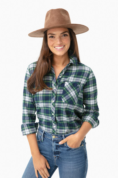 flannel chilmark relaxed button down