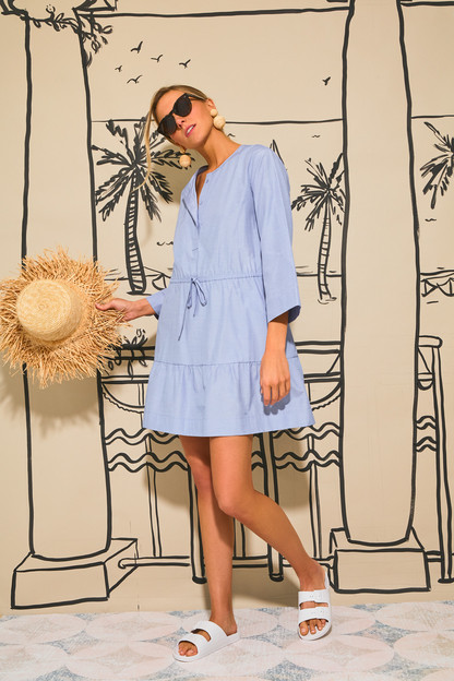 chambray lucy dress