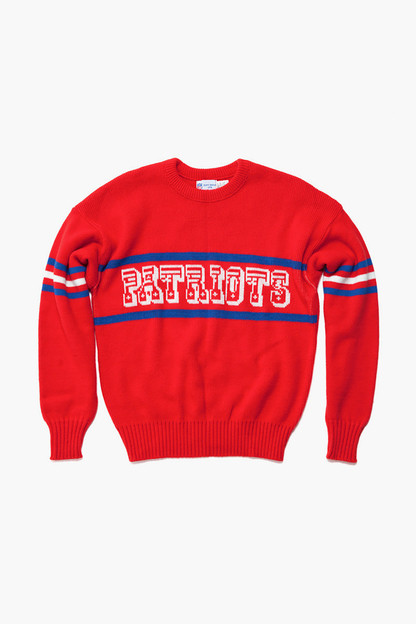 red patriots sweater