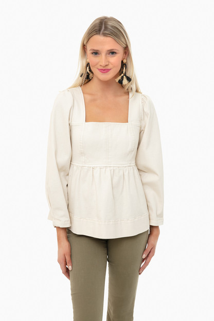ivory heyward top