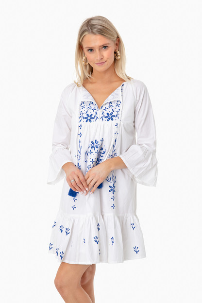 Embroidered Maricruz Dress Take an extra 25% off markdowns with code: FLASH25