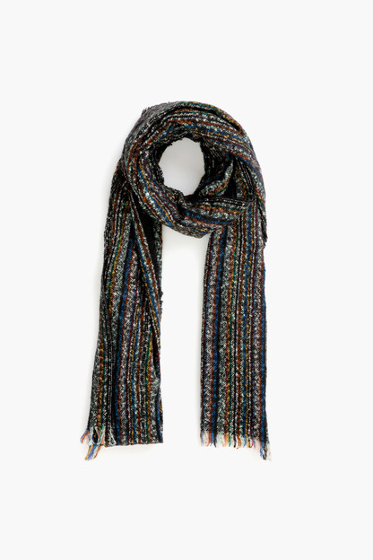 Tweed Knitted Scarf