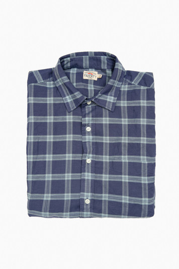 santa clara plaid cloud summer blend shirt