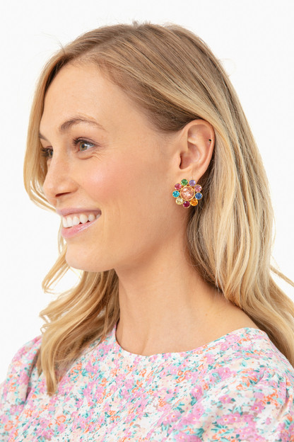 multi campbell earrings